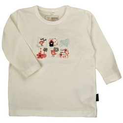 Vêtements Garçon T-shirts & Polos Name It Kids T-SHIRT  NIVITA ECRU (sp)