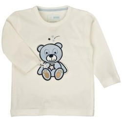 Vêtements Garçon T-shirts & Polos Name It Kids T-SHIRT  OBERT Cloud Dancer (sp)