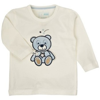 Vêtements Garçon T-shirts & Polos Name It Kids T-SHIRT OBERT Cloud Dancer (sp)