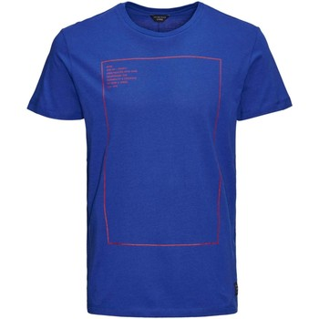 Vêtements Homme T-shirts manches courtes Jack & Jones 12102103 THIN T-SHIRT Homme SURF THE WEB SURF THE WEB