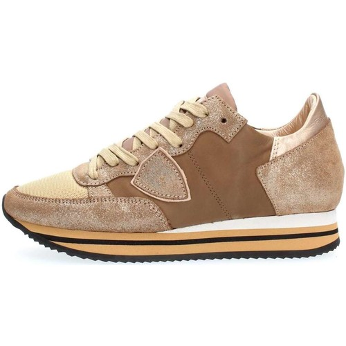 Chaussures Femme Baskets basses Philippe Model Paris THLD WZ09 TROPEZ SNEAKERS Femme MUD MUD