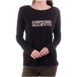 Vêtements Femme T-shirts manches longues Scotch & Soda HOTEL DE PARIS Noir