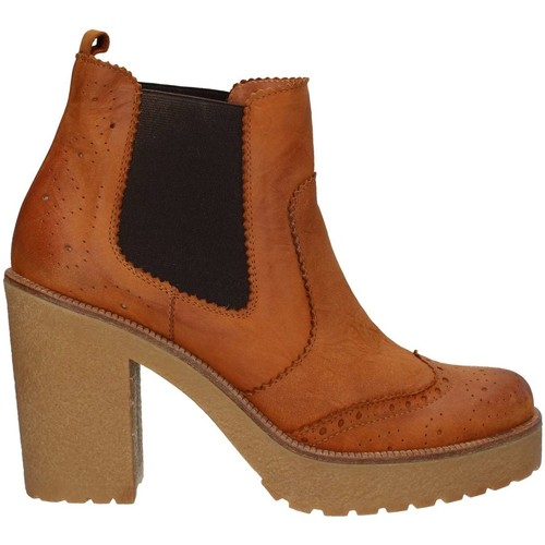 Chaussures Femme Bottines Hobby 565 Bottes et bottines Femme Brown Brown
