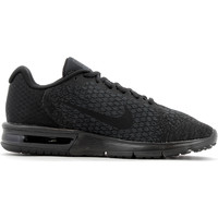 Chaussures Homme Baskets basses Nike Air Max Sequent 2 Homme Black / Black