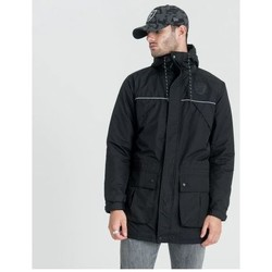 Vêtements Homme Parkas New Era Parka New Era Oakland Raiders Ntc Parka Noir Tech Series Noir