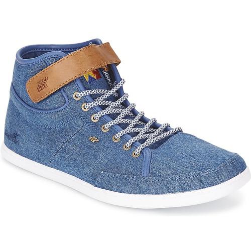 Chaussures Homme Baskets montantes Boxfresh SWICH Bleu Clair