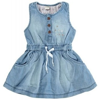 Vêtements Fille Robes courtes Name It Kids ROBE  ALYSSA Light Blue Denim (sp)