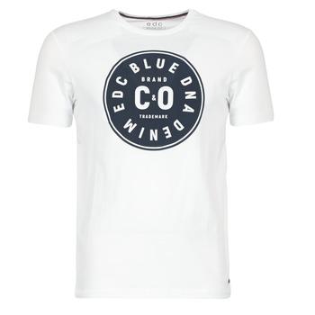 Vêtements Homme T-shirts manches courtes Esprit GRAHAM Blanc