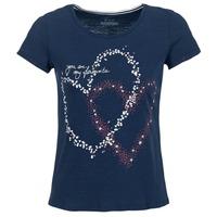 Vêtements Femme T-shirts manches courtes Esprit WEJA Marine