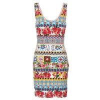 Vêtements Femme Robes courtes Desigual OCONDE Multicolore
