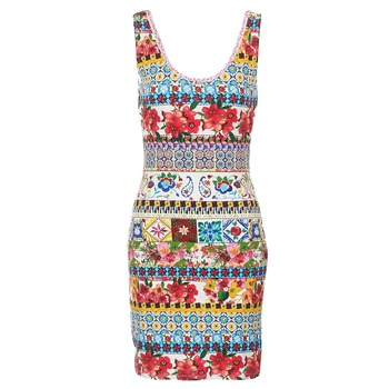 Vêtements Femme Robes courtes Desigual OCONDE Multicolore