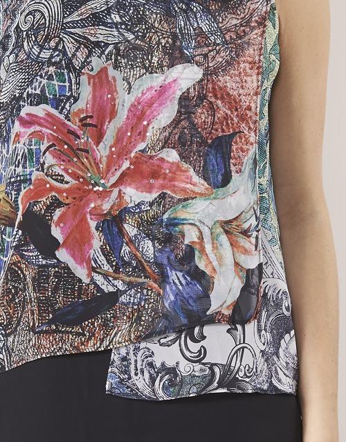 OULKE  Desigual  robes courtes  femme  multicolore