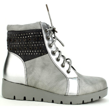 Chaussures Femme Bottines Cendriyon Bottines Gris Chaussures Femme, Gris