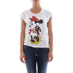 Vêtements Femme T-shirts manches courtes Only 15127154 DISCO MOUSE T-SHIRT Femme BRIGHT WHITE BRIGHT WHITE