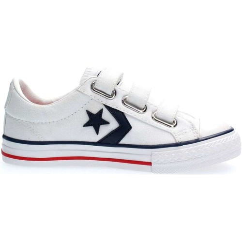 Chaussures Baskets basses Converse 315660 STAR PLAYER SNEAKERS junior unisexe WHITE WHITE