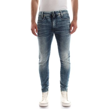 Vêtements Homme Jeans droit G-Star Raw D05385 8977 L.32 D-STAQ JEANS Homme DENIM MEDIUM BLUE DENIM MEDIUM BLUE