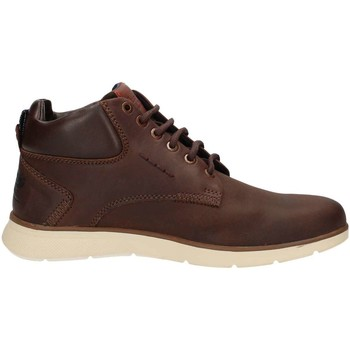 Chaussures Homme Baskets montantes Wrangler WM172152 Basket Homme Brown Brown