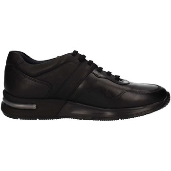 Chaussures Homme Baskets basses CallagHan 91300  Homme Black Black