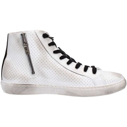 Chaussures Homme Baskets montantes 2 Stars 2S012CF17 Basket Homme White White