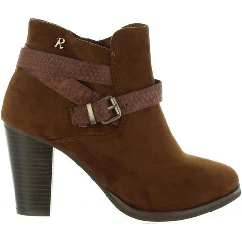 Chaussures Femme Bottines Refresh 63633 Marrón