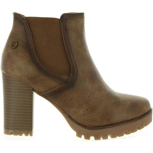 Chaussures Femme Bottines Refresh 63928 Marrón