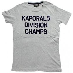 Vêtements Homme T-shirts manches courtes Kaporal T-Shirt Homme Jakeh Grey Gris