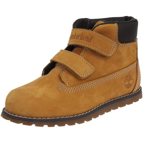 Chaussures Enfant Boots Timberland Pokey pine wheat Camel