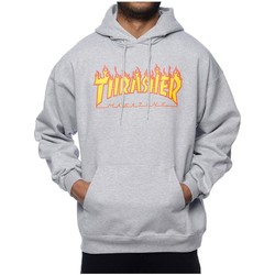 Vêtements Homme Sweats Thrasher SUDADERA  FLAME LOGO Gris