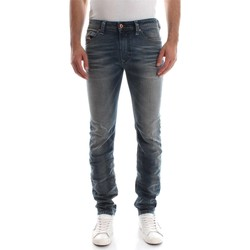 Vêtements Homme Jeans droit Diesel THAVAR L.30 JEANS Homme DENIM MEDIUM BLUE DENIM MEDIUM BLUE