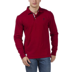 Vêtements Homme Polos manches longues Ruckfield Polo rugby Le Sébastien rouge Rouge