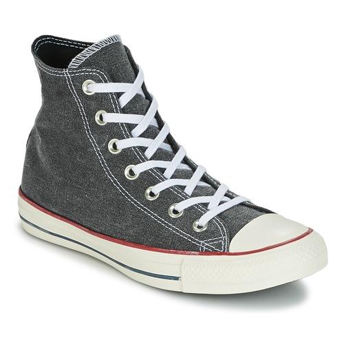 Converse CHUCK TAYLOR ALL STAR HI STONE WASH Rose - Livraison Gratuite avec  - Chaussures Baskets basses Femme