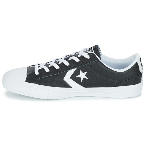 Ox Chaussures Baskets Homme Converse Player Basses Star Noir yYvfb76g