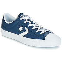 Chaussures Baskets basses Converse STAR PLAYER OX LEATHER ESSENTIALS Marine