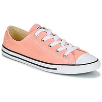 Chaussures Femme Baskets basses Converse CHUCK TAYLOR ALL STAR DAINTY OX CANVAS COLOR Rose
