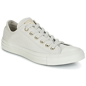 Chaussures Femme Baskets basses Converse CHUCK TAYLOR ALL STAR OX MONO GLAM CANVAS COLOR Gris