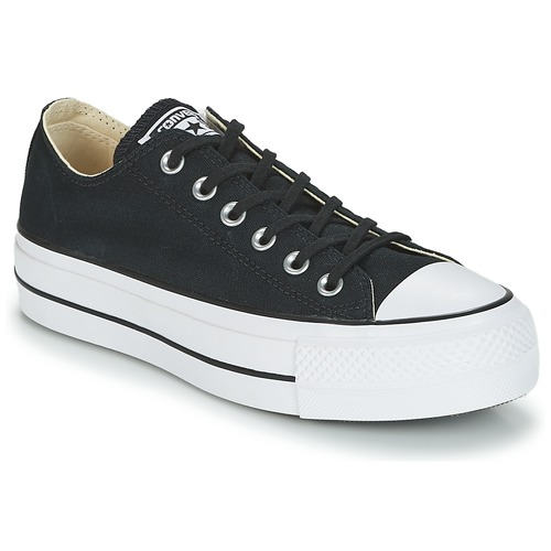 All Baskets Noir Converse Femme Basses Chuck Taylor Star Lift Ox wOP8kn0