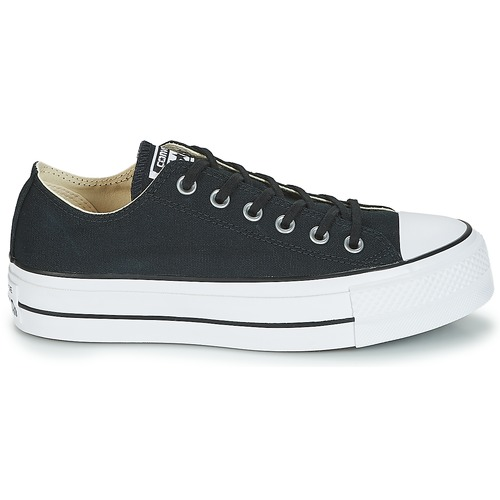 Star All Baskets Femme Ox Converse Basses Noir Lift Taylor Chuck WDIEH29