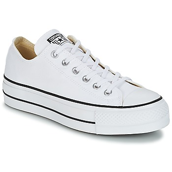 9670d40520880 Chaussures Femme Baskets basses Converse CHUCK TAYLOR ALL STAR LIFT OX Blanc