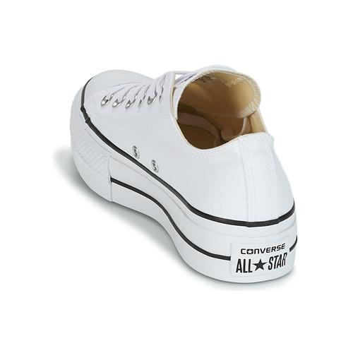 Blanc Chuck Ox Lift Baskets Converse All Star Basses Taylor Femme JclFT1K3