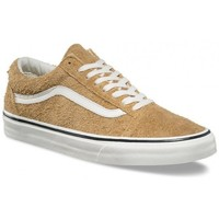 Chaussures Baskets basses Vans Chaussures  U Old Skool - Fuzzy Suede / Medal Bronze Marron