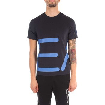 Vêtements Homme T-shirts manches courtes Emporio Armani EA7 6YPTB8 T-shirt Homme night blue night blue