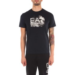 Vêtements Homme T-shirts manches courtes Emporio Armani EA7 6YPTB7 T-shirt Homme night blue night blue