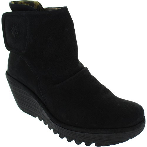 Chaussures Femme Boots Fly London Yomi Noir