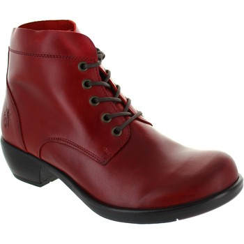Chaussures Femme Boots Fly London Mesu rouge