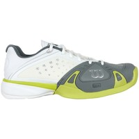 Chaussures Homme Baskets basses Wilson Rush Pro HC Gris-Blanc