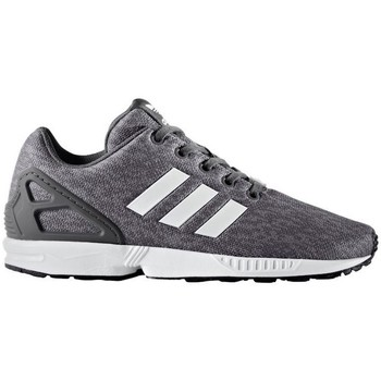 Chaussures Enfant Baskets basses adidas Originals ZX Flux J Gris