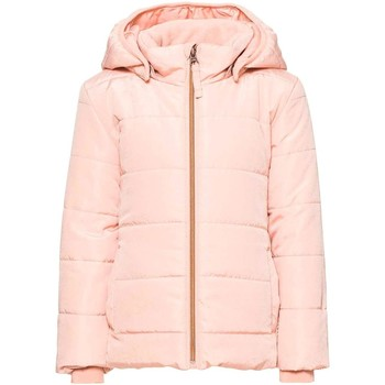 Vêtements Fille Doudounes Name It Kids NITMIT JACKET MINI Rose