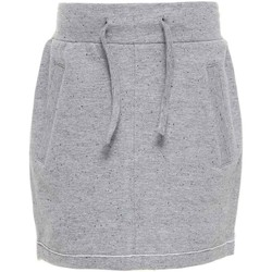 Vêtements Fille Jupes Name It Kids NITKADDY BRU SWE SLIM SKIRT GREY W17 Gris