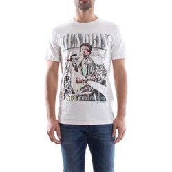 Vêtements Homme T-shirts manches courtes Jack & Jones 12116395 JIMI HENDRIX T-SHIRT Homme CLOUD DANCER CLOUD DANCER