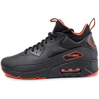 Chaussures Homme Baskets basses Nike Air Max 90 Ultra Mid Winter Se Black Crimson Noir/Orange